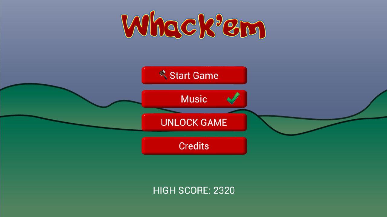 Screenshot of Whack'em