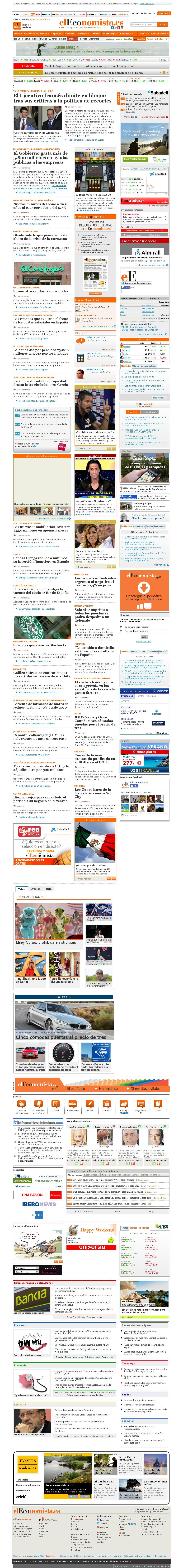 elEconomista at Monday Aug. 25, 2014, 10:05 a.m. UTC