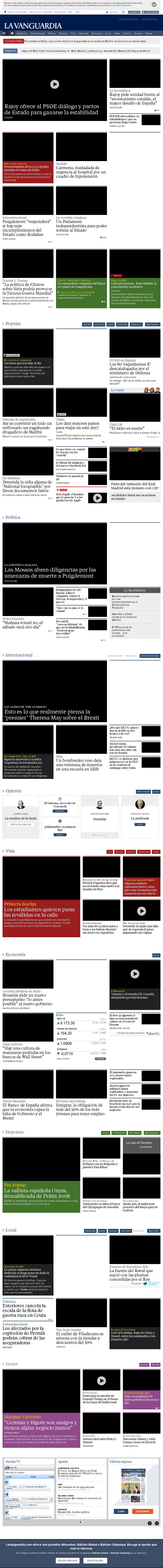 La Vanguardia at Wednesday Oct. 26, 2016, 8:24 p.m. UTC