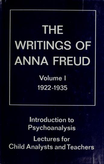 Cover of: Introduction to psychoanalysis | Anna Freud