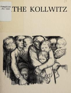 Cover of: Kathe Kollwitz   National Gallery of Canada