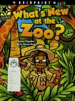Cover of: What's new at the zoo? | Janine D'Ippolito